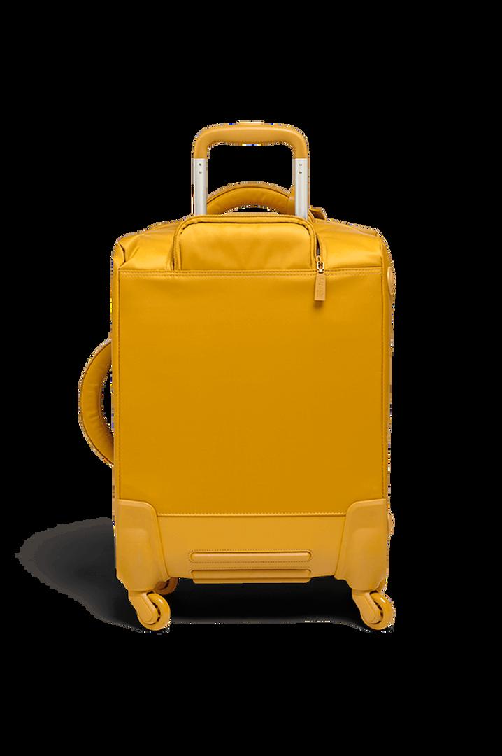 Originale Plume Nelipyöräinen laukku 55cm Mustard | 2