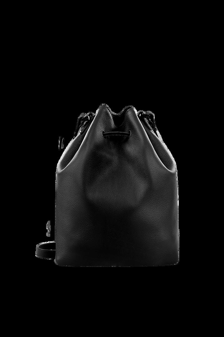 Plume Elegance Bucket Bag Black | 2