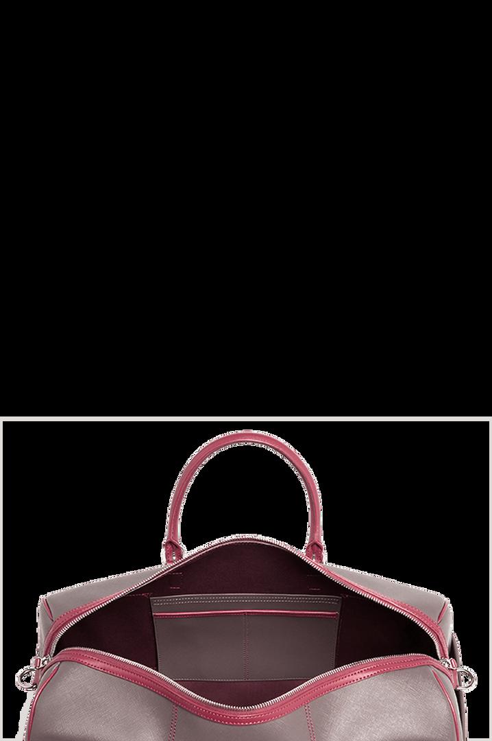 Variation Matkakassi Grey/Raspberry | 2