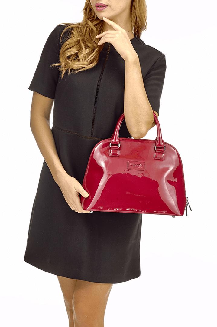 Plume Vinyle Käsilaukku M Ruby | 4