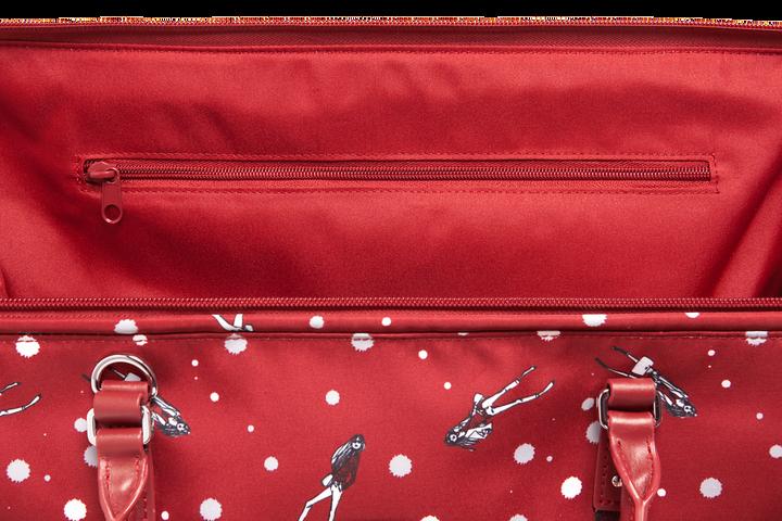 Izak Zenou Collab Weekend Bag M Pose/Garnet Red | 4