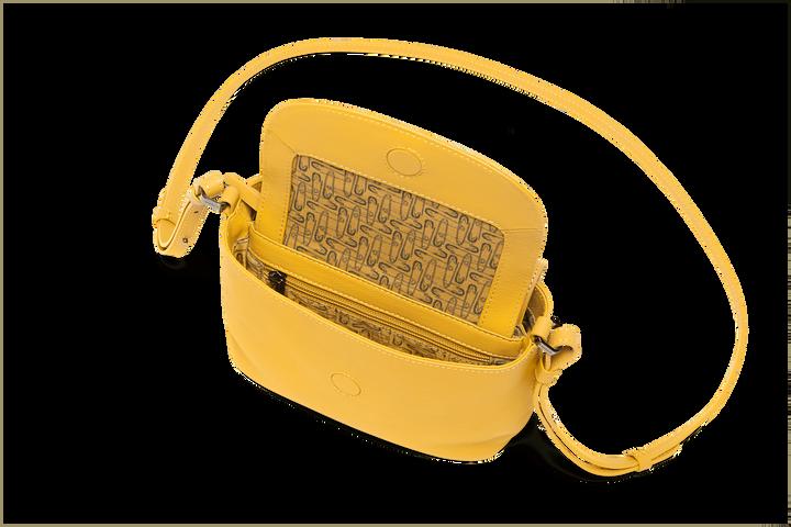Plume Elegance Käsilaukku Mustard | 2