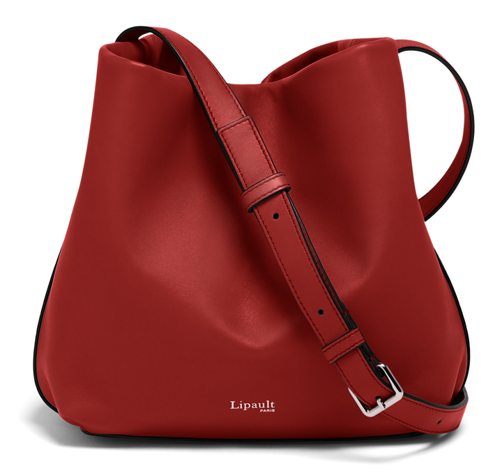 By The Seine Bucket Bag Cherry Red | 1
