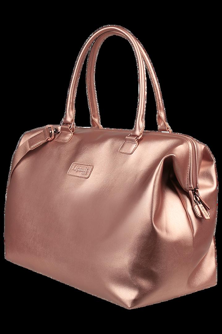 Miss Plume Weekend Bag M Pink Gold | 4