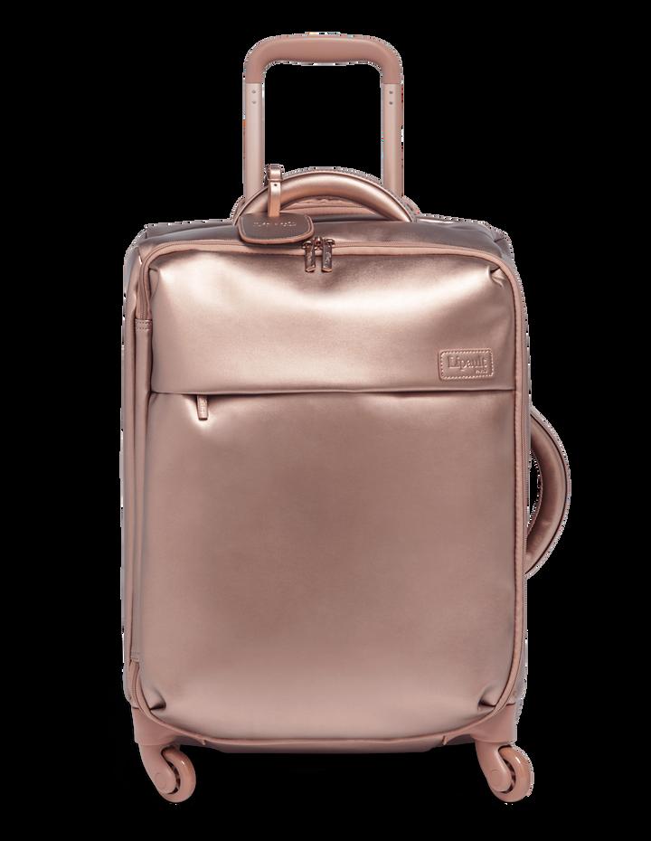 Miss Plume Nelipyöräinen matkalaukku 55cm Pink Gold | 1