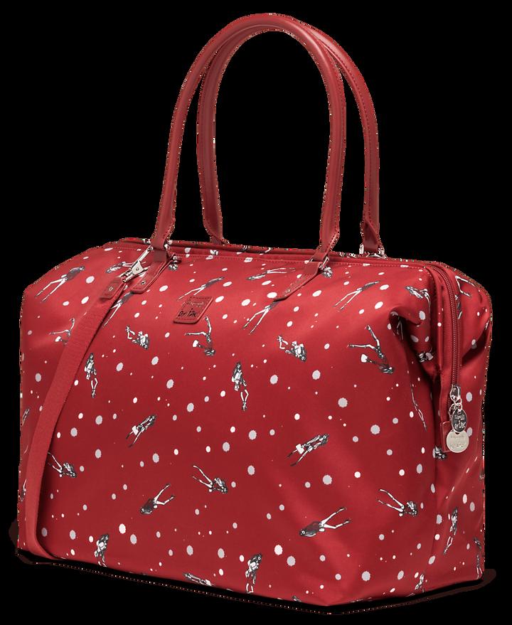 Izak Zenou Collab Weekend Bag M Pose/Garnet Red | 3
