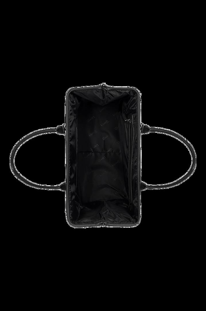 Plume Vinyle Weekend Bag M Black | 2