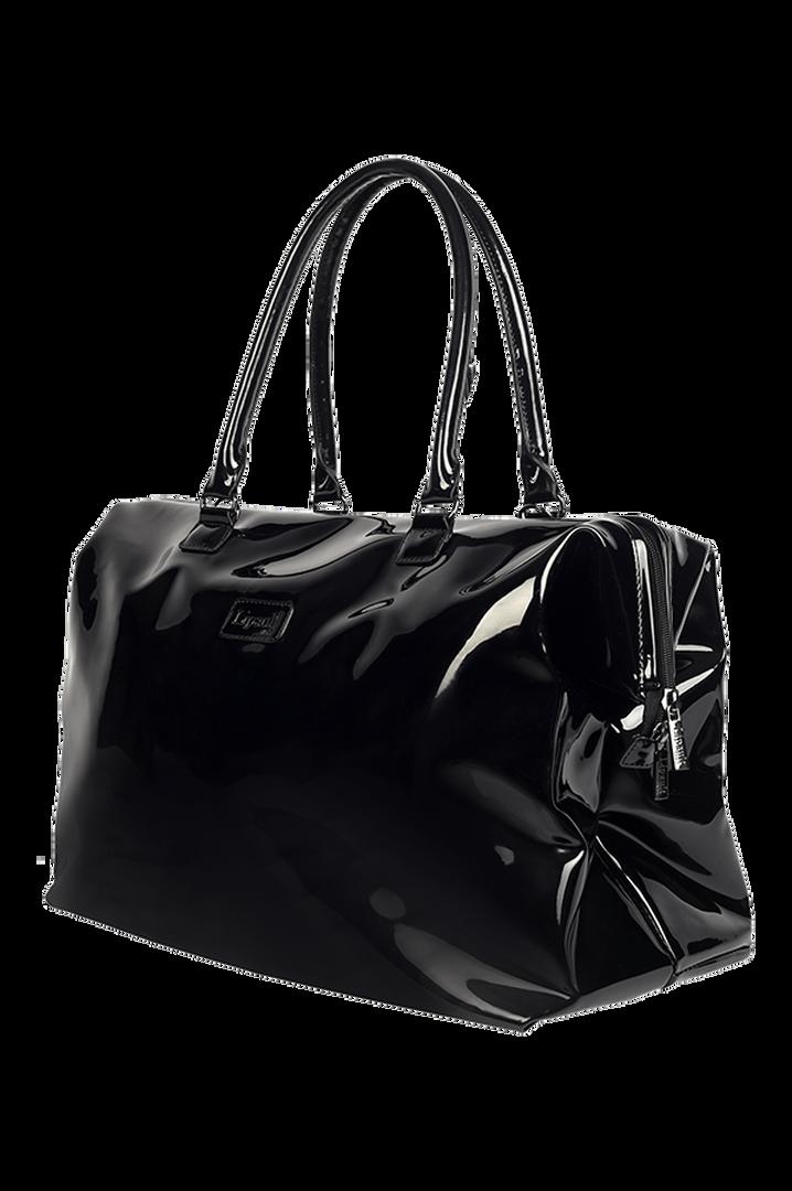 Plume Vinyle Weekend Bag M Black | 5