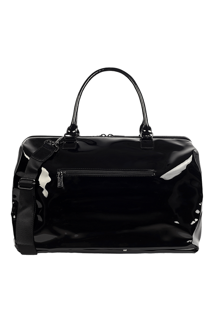 Plume Vinyle Weekend Bag M Black | 4
