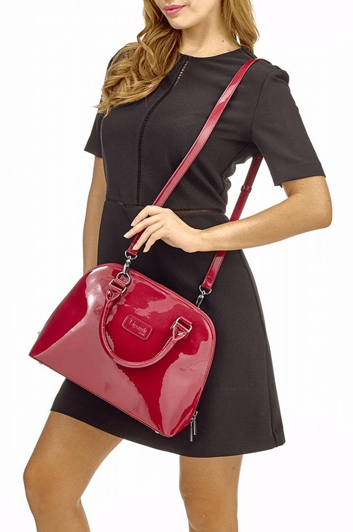 Plume Vinyle Käsilaukku M Ruby | 5