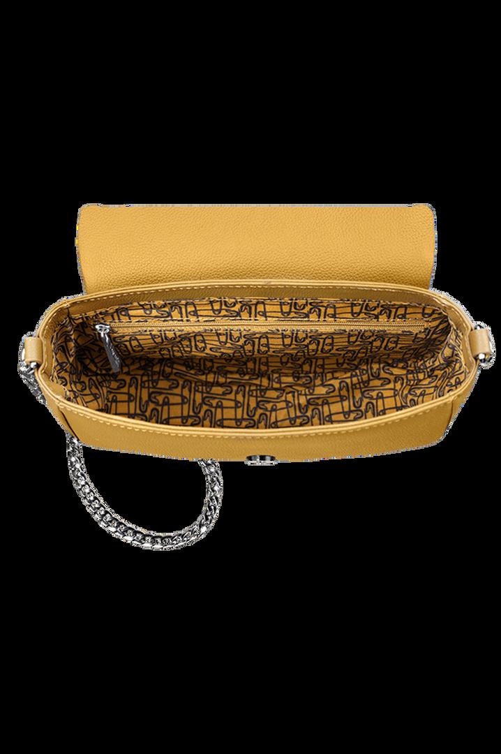 Plume Elegance Satulalaukku Mustard | 2