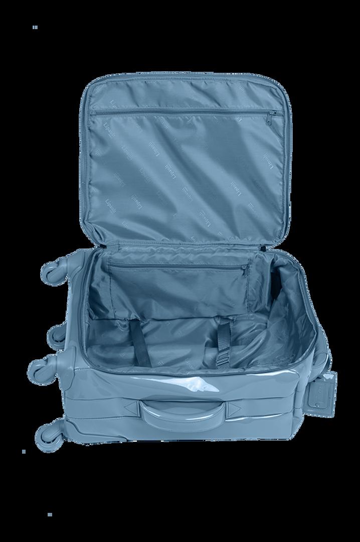 Plume Vinyle Nelipyöräinen laukku 55cm Steel Blue | 3