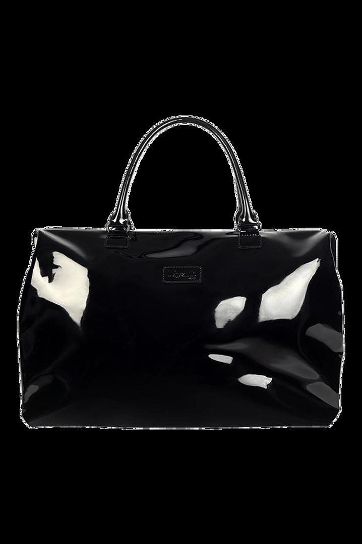Plume Vinyle Weekend Bag M Black | 1