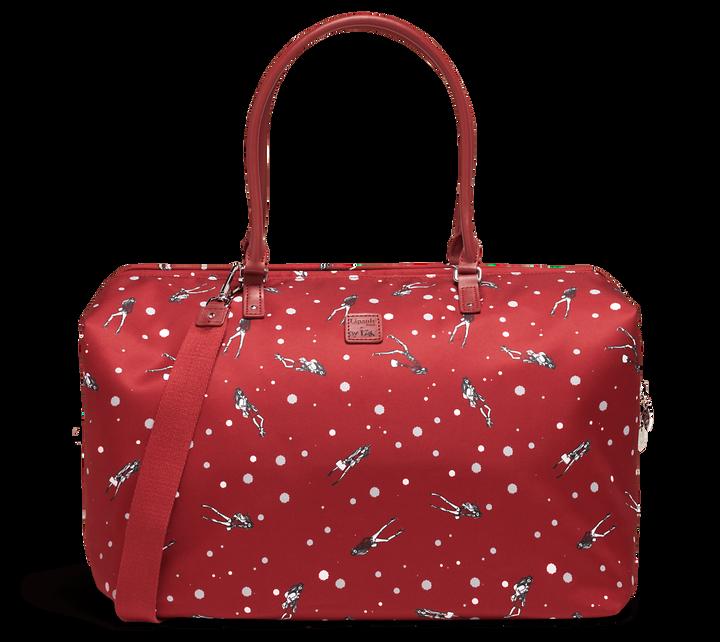 Izak Zenou Collab Weekend Bag M Pose/Garnet Red | 1