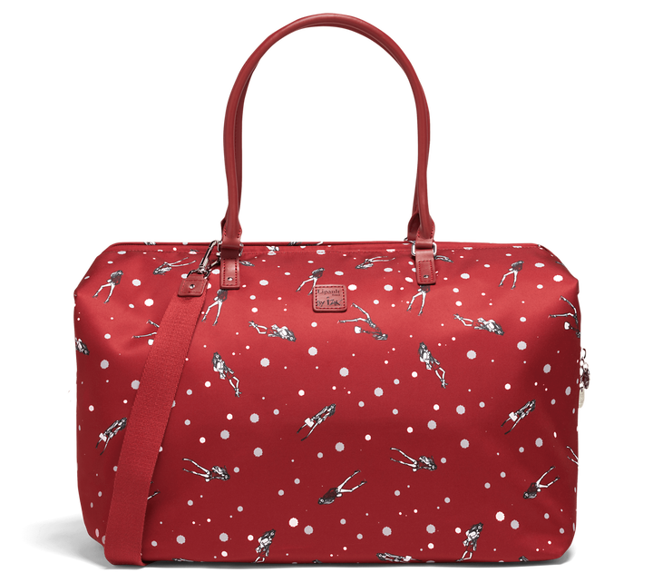 Izak Zenou Collab Weekend Bag M Pose/Garnet Red | 1
