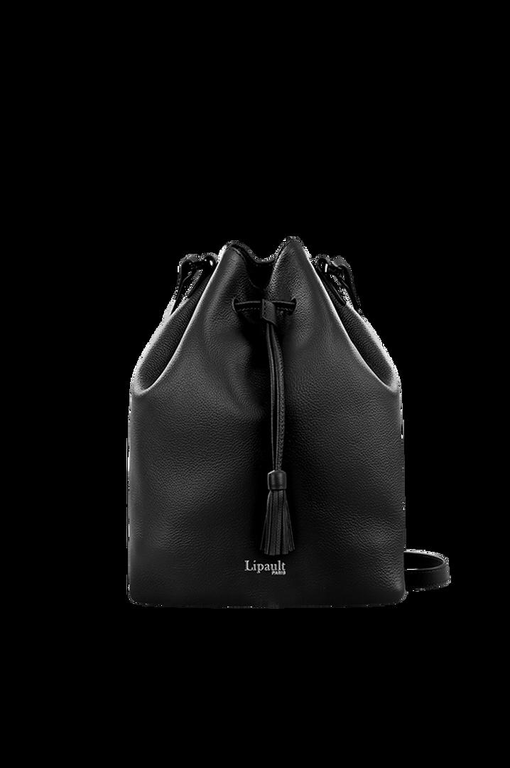 Plume Elegance Bucket Bag Black | 1