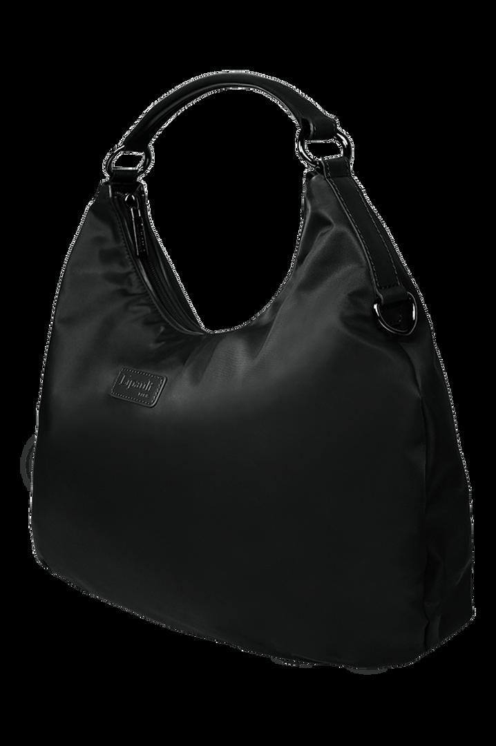 Lady Plume Hobo-laukku M Black | 2